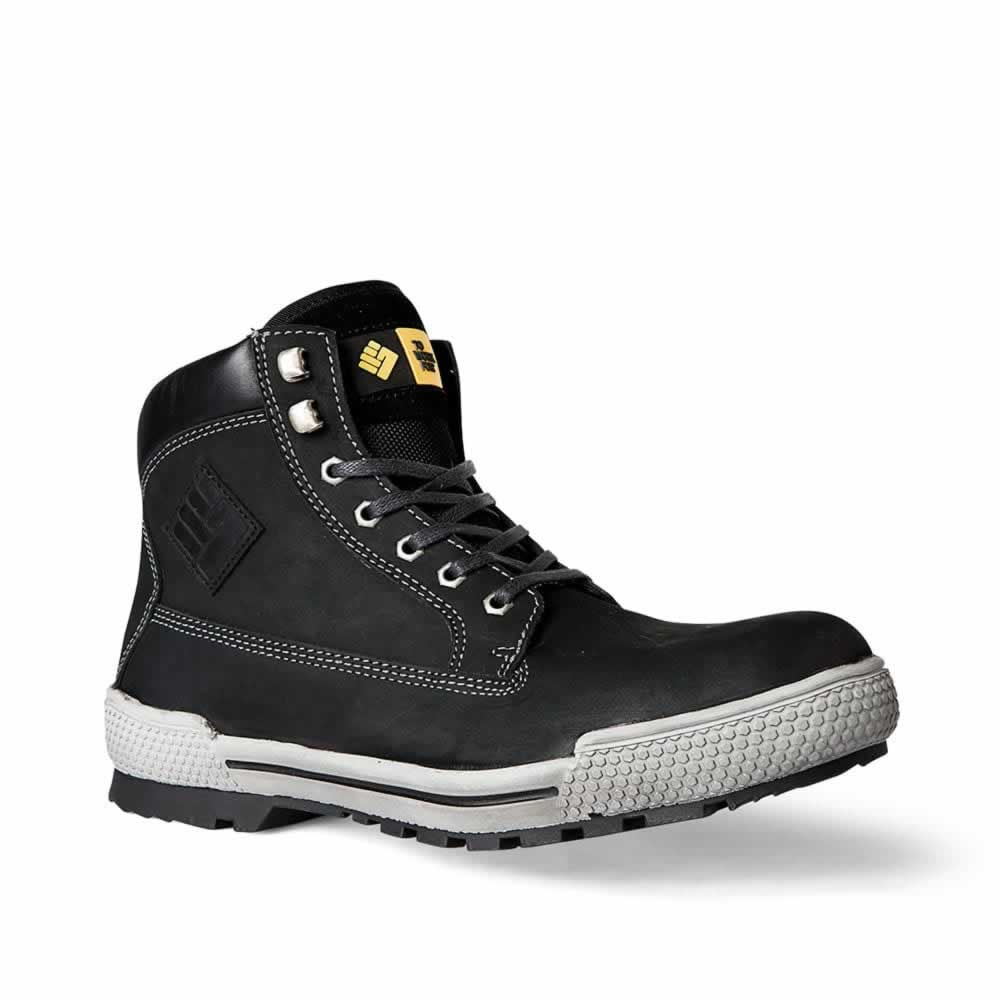 Botas ToWorkFor Panther Black Leather S3