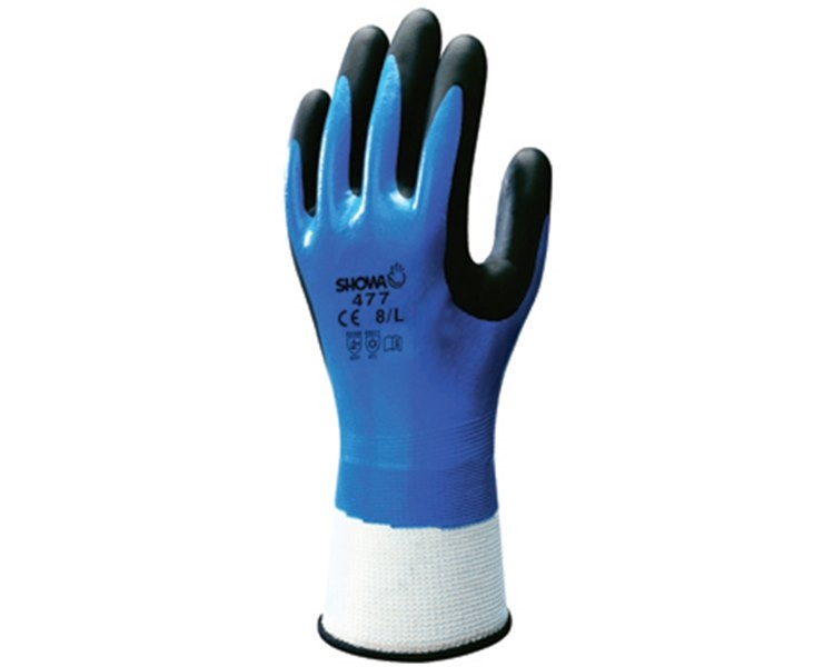 Luvas Showa 477 Insulated Nitrile Grip (2241)